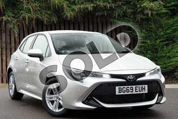Toyota Corolla 1.2T VVT-i Icon Tech 5dr in Stirling silver at Listers Toyota Coventry