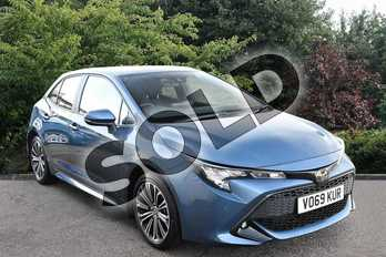 Toyota Corolla 1.2T VVT-i Design 5dr in Blue at Listers Toyota Stratford-upon-Avon