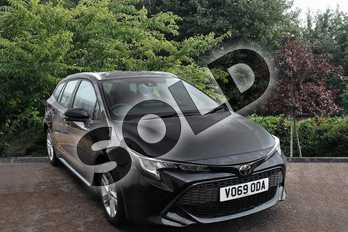 Toyota Corolla 1.2T VVT-i Icon Tech 5dr in Black at Listers Toyota Stratford-upon-Avon