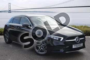 Mercedes-Benz A Class Diesel A180d AMG Line Executive 5dr Auto in Cosmos Black Metallic at Mercedes-Benz of Hull
