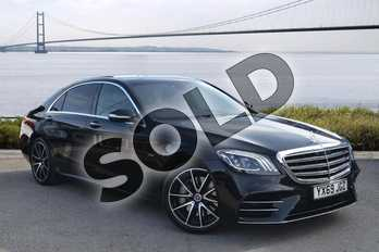 Mercedes-Benz S Class S350d L AMG Line Executive 4dr 9G-Tronic in Obsidian Black metallic at Mercedes-Benz of Hull
