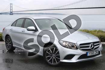 Mercedes-Benz C Class C180 SE 4dr in iridium silver metallic at Mercedes-Benz of Hull