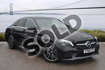 Mercedes-Benz C Class C220d AMG Line Premium 4dr 9G-Tronic in obsidian black metallic at Mercedes-Benz of Hull