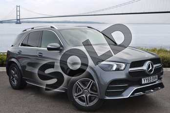 Mercedes-Benz GLE Diesel GLE 350d 4Matic AMG Line Prem 5dr 9G-Tronic (7 St) in selenite grey metallic at Mercedes-Benz of Hull