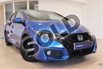 Honda Civic Diesel 1.6 i-DTEC Sport 5dr in Blue at Listers Honda Northampton