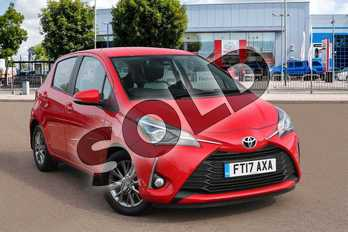 Toyota Yaris 1.5 VVT-i Icon 5dr in Chilli Red at Listers Toyota Cheltenham