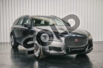 Jaguar XF 2.0i Portfolio 5dr Auto in Corris Grey at Listers Jaguar Solihull