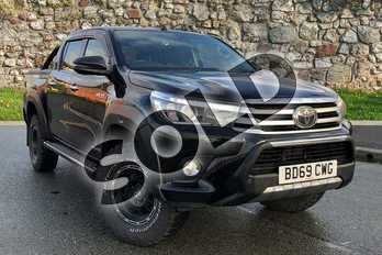 Toyota Hilux 50th Edition D/Cab Pick Up 2.4 D-4D Auto in Black at Listers Toyota Nuneaton