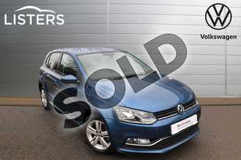 Volkswagen Polo 1.0 Match Edition 5dr in Blue Silk at Listers Volkswagen Nuneaton