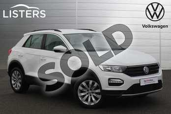 Volkswagen T-Roc 2.0 TDI SE 5dr in Pure White at Listers Volkswagen Nuneaton