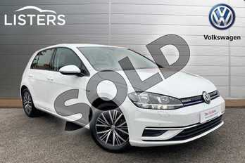 Volkswagen Golf 1.5 TSI EVO SE (Nav) 5dr in Pure White at Listers Volkswagen Stratford-upon-Avon