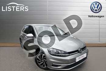 Volkswagen Golf 1.5 TSI EVO 150 Match 5dr in Tungsten Silver at Listers Volkswagen Worcester