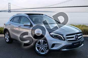 Mercedes-Benz GLA Class Diesel GLA 200d Sport 5dr Auto (Premium Plus) in Polar Silver Metallic at Mercedes-Benz of Hull