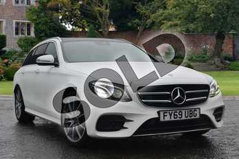 Mercedes-Benz E Class Diesel E220d AMG Line Edition Premium Plus 5dr 9G-Tronic in Polar White at Mercedes-Benz of Lincoln