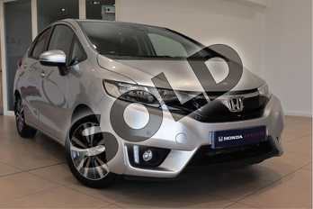 Honda Jazz 1.3 EX Navi 5dr in Silver at Listers Honda Northampton