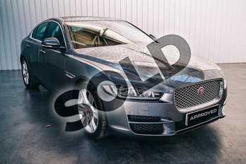 Jaguar XE Diesel 2.0d (180) Portfolio 4dr Auto in Corris Grey satin at Listers Jaguar Solihull