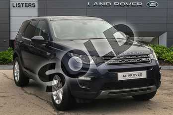 Land Rover Discovery Sport Diesel SW 2.0 TD4 180 SE Tech 5dr Auto in Loire Blue at Listers Land Rover Droitwich