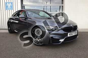 BMW M4 M4 2dr DCT (Competition Pack) in Mineral Grey at Listers King's Lynn (BMW)