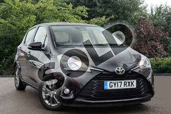 Toyota Yaris 1.5 VVT-i Icon 5dr in Black at Listers Toyota Nuneaton