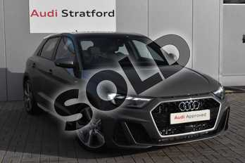 Audi A1 S line Competition 40 TFSI  200 PS S tronic in Chronos Grey Metallic at Stratford Audi