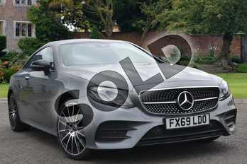Mercedes-Benz E Class Diesel E400d 4Matic AMG Line Premium Plus 2dr 9G-Tronic in selenite grey metallic at Mercedes-Benz of Lincoln