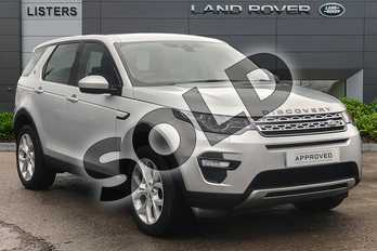 Land Rover Discovery Sport Diesel SW 2.0 TD4 180 HSE 5dr Auto in Indus Silver at Listers Land Rover Droitwich