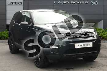 Land Rover Discovery Sport Diesel SW 2.0 TD4 180 HSE Luxury 5dr Auto in Aintree Green at Listers Land Rover Droitwich