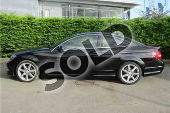 Mercedes-Benz C Class Diesel C220 CDI AMG Sport Edition 2dr Auto (Premium) in Metallic - Obsidian black at Listers U Boston