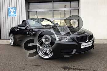 BMW Z4 Roadster 20i sDrive M Sport 2dr in Black Sapphire metallic paint at Listers King's Lynn (BMW)
