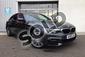 BMW 5 Series 520i M Sport 4dr Auto in Sophisto Grey Xirallic at Listers King's Lynn (BMW)