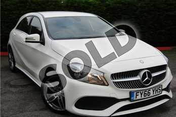 Mercedes-Benz A Class A180 AMG Line Executive 5dr Auto in Solid - Cirrus white at Listers U Boston