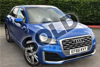 Audi Q2 1.4 TFSI S Line 5dr S Tronic in Crystal - Ara blue at Listers U Boston