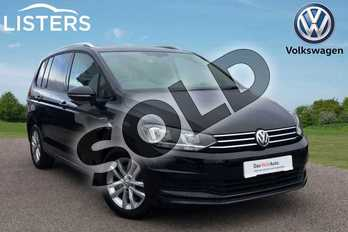 Volkswagen Touran 1.6 TDI 115 SE Family 5dr DSG in Deep black at Listers Volkswagen Loughborough