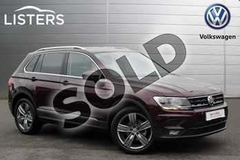 Volkswagen Tiguan 2.0 TDI 150 Match 5dr in Crimson Red at Listers Volkswagen Nuneaton