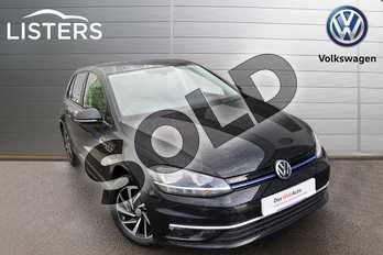 Volkswagen Golf 1.5 TSI EVO Match 5dr in Deep black at Listers Volkswagen Worcester