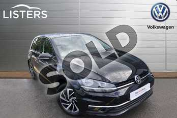 Volkswagen Golf 1.5 TSI EVO 150 Match 5dr in Deep black at Listers Volkswagen Worcester