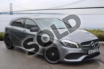 Mercedes-Benz A Class Diesel A200d AMG Line Premium Plus 5dr Auto in Mountain Grey at Mercedes-Benz of Hull