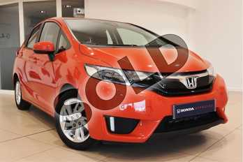 Honda Jazz 1.3 SE Navi 5dr CVT in Orange at Listers Honda Northampton
