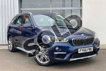 BMW X1 Diesel xDrive 25d xLine 5dr Step Auto in Mediterranean Blue at Listers Boston (BMW)