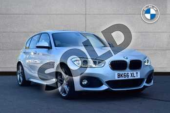 BMW 1 Series 118i M Sport 5-Door in Glacier Silver at Listers Boston (BMW)