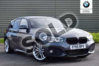 BMW 1 Series Diesel 118d M Sport 5dr Step Auto in Mineral Grey at Listers Boston (BMW)