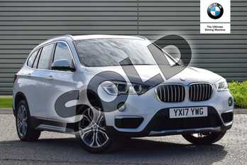BMW X1 Diesel xDrive 18d xLine 5dr Step Auto in Alpine White at Listers Boston (BMW)