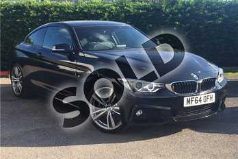 BMW 4 Series Diesel 430d xDrive M Sport 2dr Auto in Metallic - Black sapphire at Listers U Boston