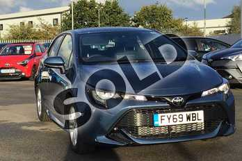 Toyota Corolla 1.2T VVT-i Icon Tech 5dr in Blue at Listers Toyota Lincoln