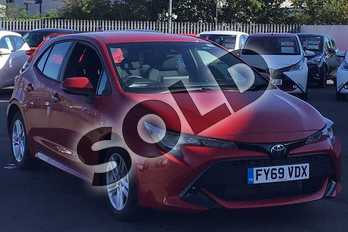 Toyota Corolla 1.2T VVT-i Icon 5dr in Red at Listers Toyota Lincoln
