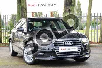 Audi A3 1.4 TFSI 125 SE 5dr in Brilliant Black at Coventry Audi