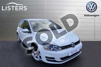 Volkswagen Golf 1.4 TSI Match 5dr in Pure white at Listers Volkswagen Worcester