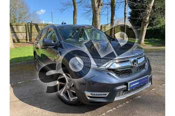 Honda CR-V 1.5 VTEC Turbo EX 5dr CVT in Cosmic Blue at Listers Honda Stratford-upon-Avon