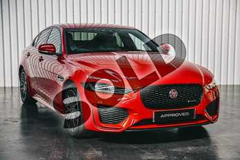 Jaguar XE Diesel 2.0d R-Dynamic S 4dr Auto in Caldera Red at Listers Jaguar Solihull