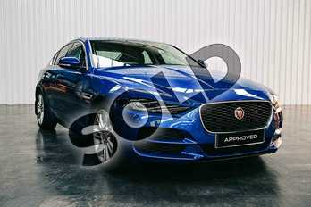 Jaguar XE Diesel 2.0d SE 4dr Auto in Caesium Blue at Listers Jaguar Solihull